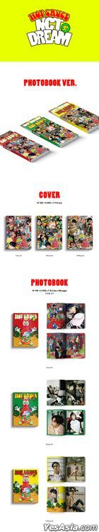 NCT DREAM Vol. 1 - Hot Sauce (Photo Book Version) (Random Version)