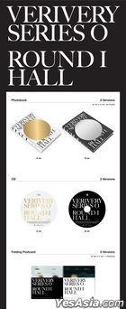 VERIVERY Single Album - SERIES 'O' [ROUND 1: HALL] (B Version) + Poster in Tube (B Version)