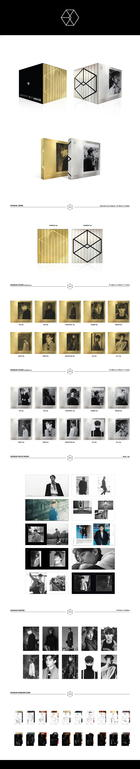 EXO Vol. 2 - Exodus (Korean Version) (Random Version) + Random Poster