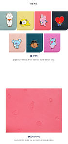 BT21 Mascot Mini Journey Passport Case (RJ)