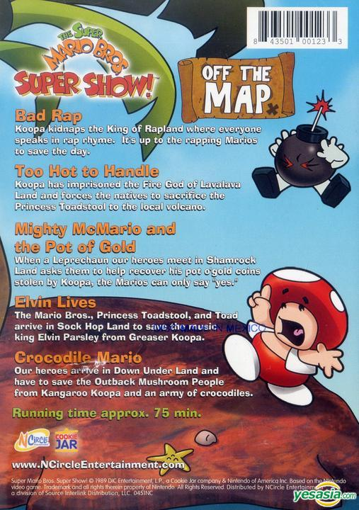Yesasia Super Mario Bros Super Show Off The Map Us Version