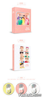 BTS 4th MUSTER Happy Ever After (3DVD) (Outbox + Photobook + Postcard + Photo Card) (Korea Version)