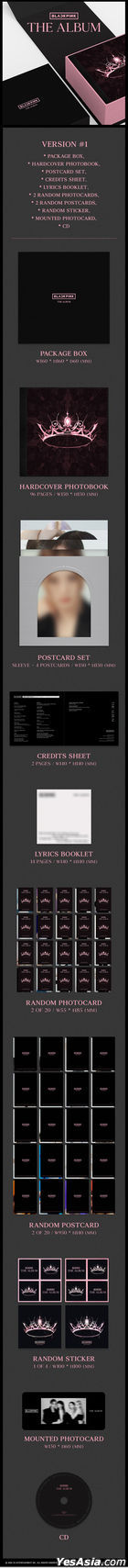 BLACKPINK 1st FULL ALBUM [THE ALBUM] (Version 2)