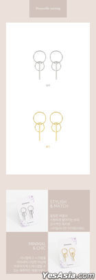 GOT7 Style - Dunnville Earrings (Silver)