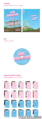 Cherry Bullet Single Album Vol. 2 - Love Adventure + 2 Posters in Tube