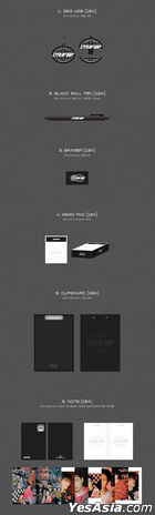 ONF - 'CITY OF ONF' Online Limited Stationery Set