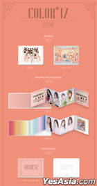 IZ*ONE Mini Album Vol. 1 - COLOR*IZ (Random Version)