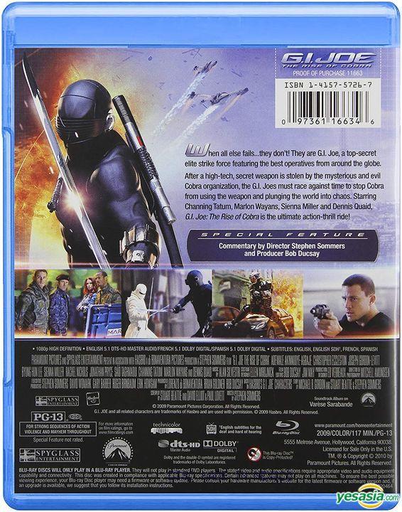 Yesasia G I Joe The Rise Of Cobra 2009 Blu Ray Us Version Blu Ray Lee Byung Hun Brendan Fraser Paramount Home Entertainment Western World Movies Videos Free Shipping