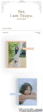 Twice: Tzu Yu 1st Photobook - Yes, I am Tzuyu. (Blue Version)