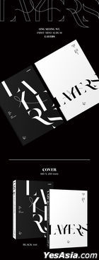 Ong Seong Wu Mini Album Vol. 1 - LAYERS (Black Version) + First Press Postcard Set (Black Version) + Poster in Tube (Black Version)