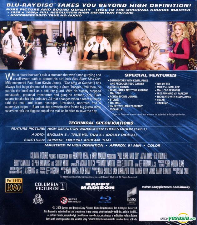 Yesasia Paul Blart Mall Cop 2009 Blu Ray Hong Kong Version Blu Ray Lyn Foster Keir O Donnell Intercontinental Video Hk Western World Movies Videos Free Shipping North America Site