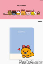 Kakao Friends Ribbon Mini Note (Apeach)