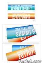Shinhwa 2017 Lee Min Woo Fan Party Summer Tonight Official Goods - Slogan
