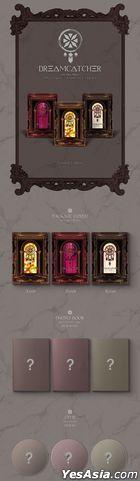Dreamcatcher Mini Album Vol. 6 - Dystopia : Road to Utopia (First Press Normal Edition) (A + B + C Version) + Poster in Tube
