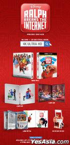 Ralph Breaks The Internet (4K Ultra HD + 2D Blu-ray) (Steelbook Limited Edition) (Korea Version)