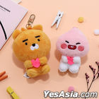 Kakao Friends Little Mini Doll Keyring (Apeach)