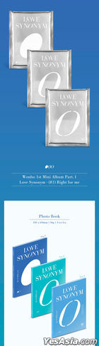 WONHO Mini Album Vol. 1 - LOVE SYNONYM #1. Right for Me (Random Version)