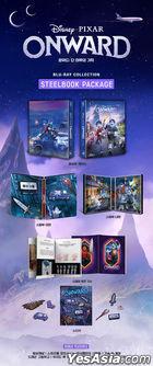 Onward (Blu-ray) (Steelbook Limited Edition) (Korea Version)