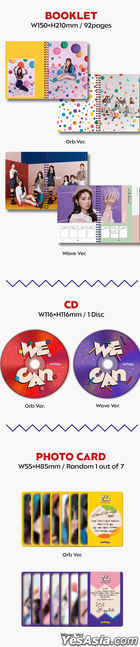 Weeekly Mini Album Vol. 2 - WE CAN (Wave Version) + Poster in Tube (Wave Version)