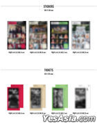 Loona Mini Album Vol. 3 - 12:00 (A + B + C + D Version) + 4 Posters in Tube (A + B + C + D Version)