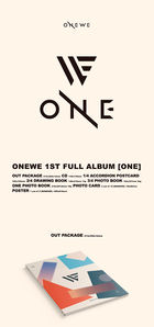ONEWE 1st Full Album - ONE + 2 Posters in Tube
