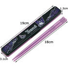 Kuromi Chopsticks with Case