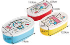 I'm Doraemon Oval Seal Food Container Set (3 Pieces)