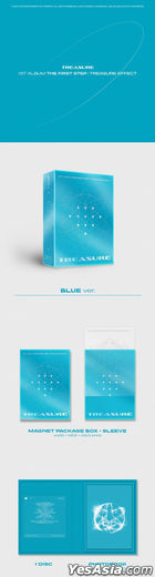 TREASURE Vol. 1 - THE FIRST STEP : TREASURE EFFECT (BLUE Version)