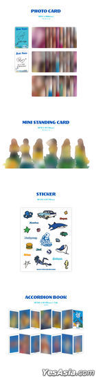 Rocket Punch Mini Album Vol. 3 - BLUE PUNCH + First Press Accordion Book + 2 Posters in Tube