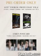 GOT7 Mini Album - DYE (Random Version) + First Press Limited Gift + Random Poster in Tube