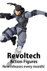 Revoltech Action Figures