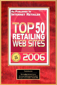 Top 50 Retailing Web Sites