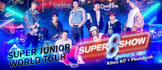 Super Junior World Tour 'SUPER SHOW 8 : INFINITE TIME'