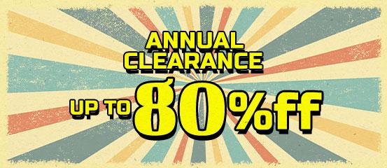 Annual Clearance