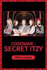 ITZY 'Codename : Secret ITZY' Secret Store Official Goods
