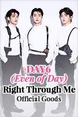 DAY6 (Even of Day) 'Right Through Me' Official Merchandise